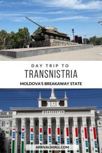 Day trip to Transnistria