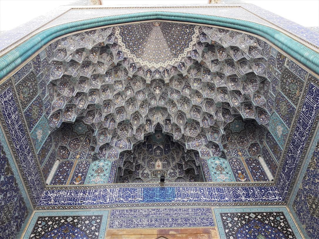 Masjed-e Shah exterior Isfahan