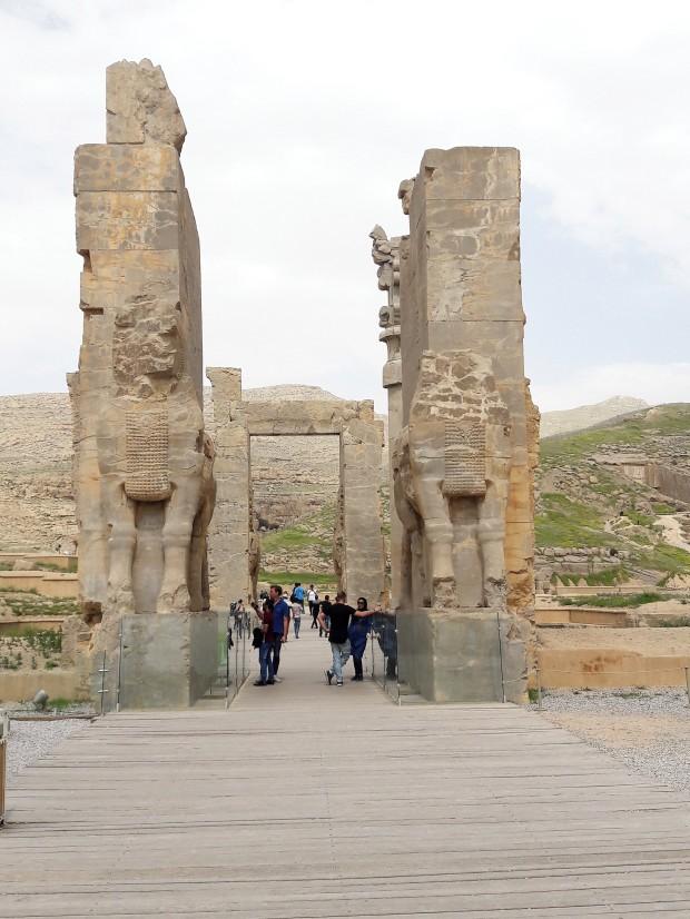 Gate of all Lands Persepolis Iran