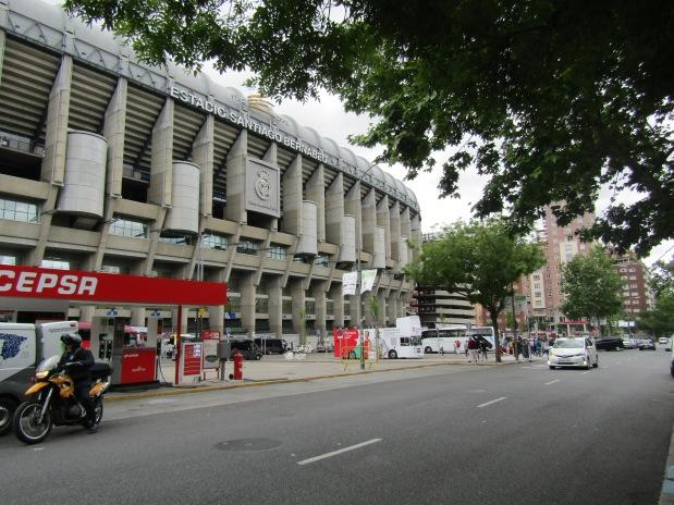 Santiago Bernabeu Stadium Madrid