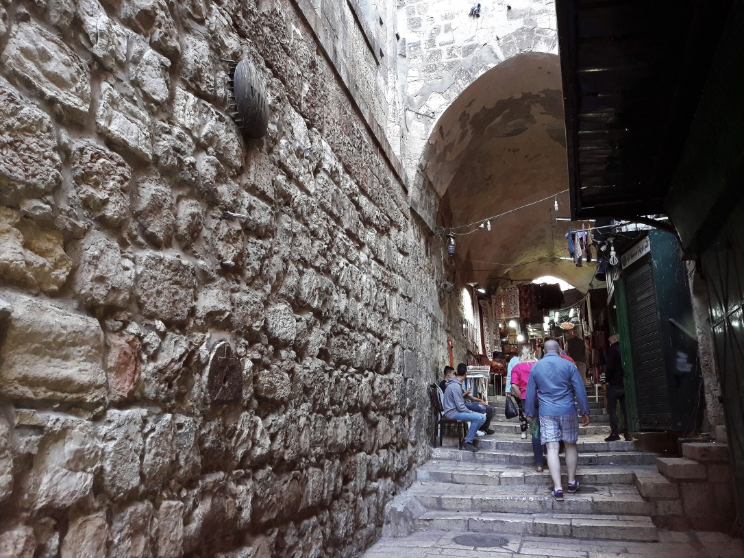 Via Dolorosa Eight Station