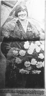 Lady Mary Heath arriving in Croydon