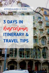 3 days in Barcelona
