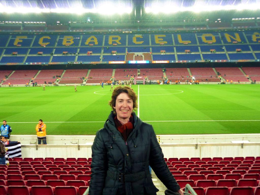 FC Barcelona match Hazel Joy