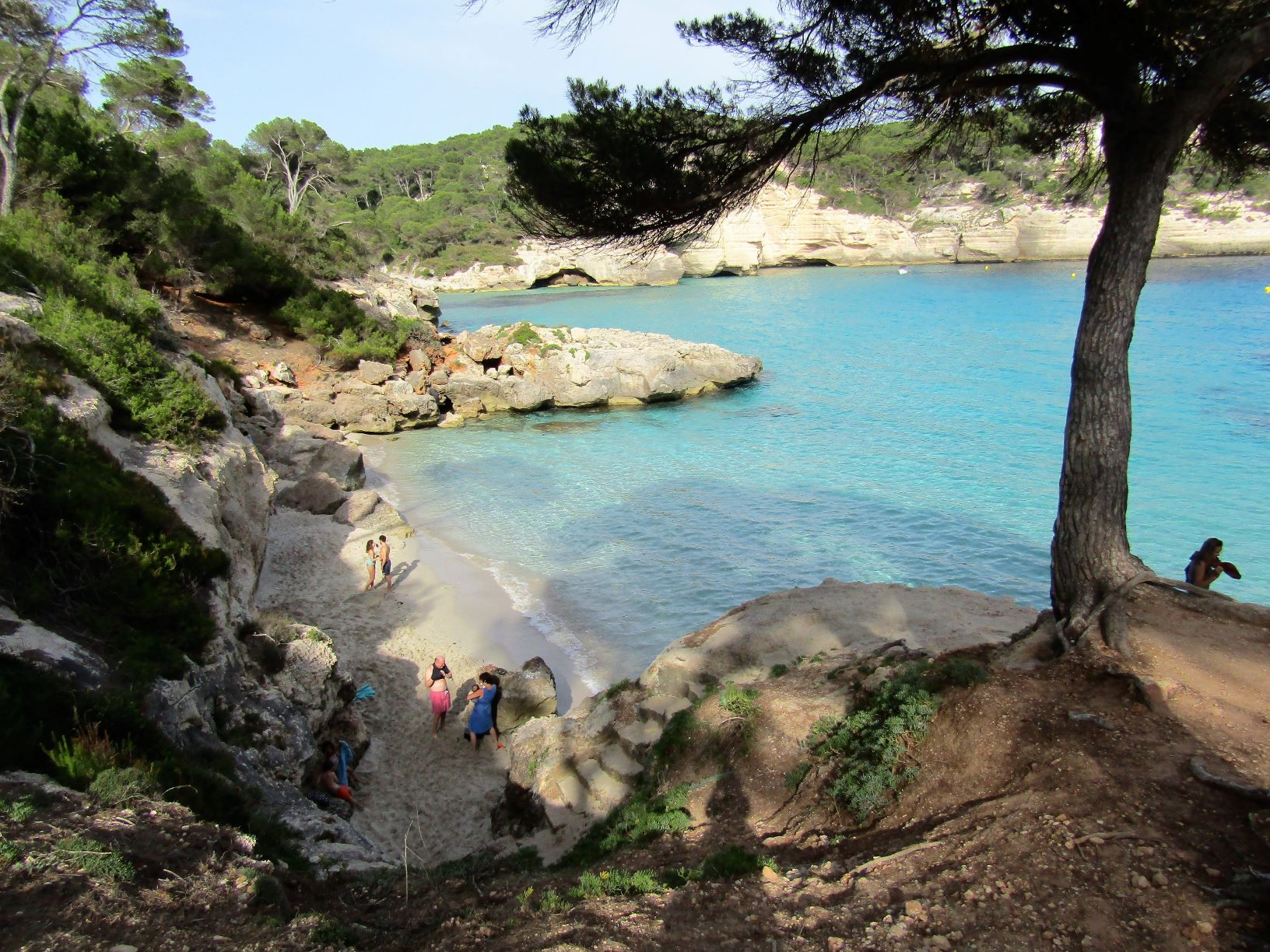 Cala Mitjaneta Menorca