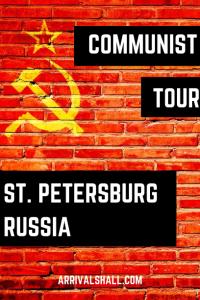 Communist Tour St Petersburg Russia