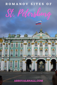 Romanov St Petersburg