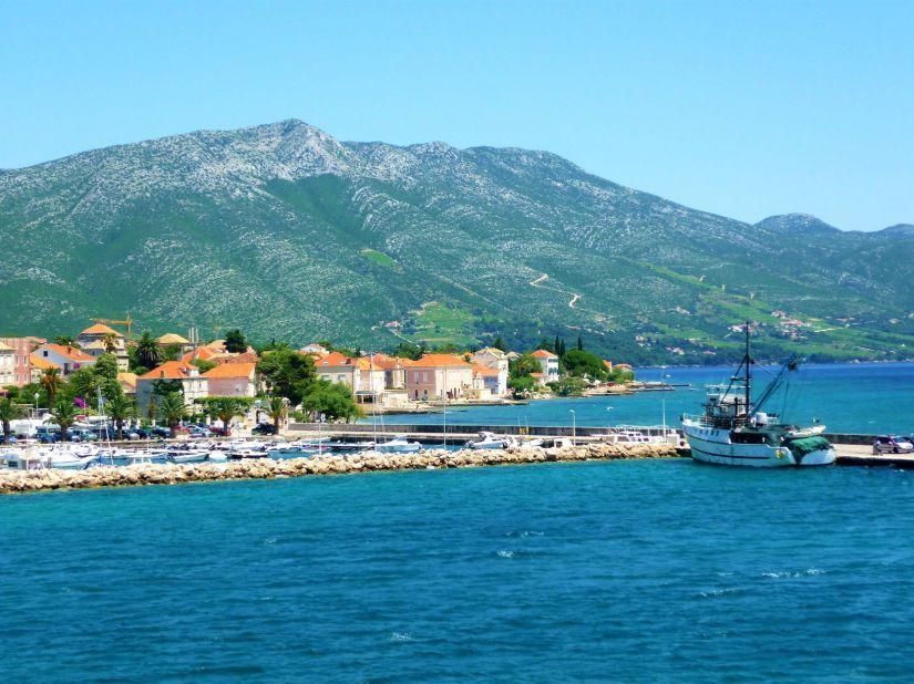 Orebic Harbour Peljesac Peninsula Croatia