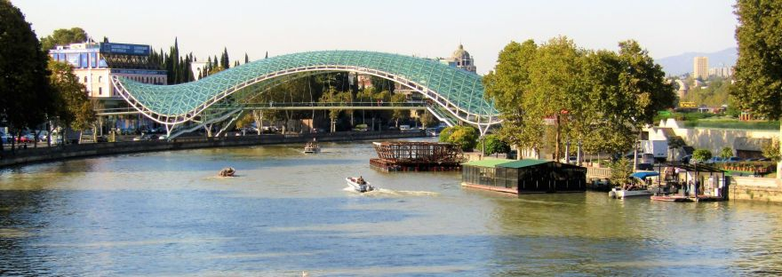 Peace Bridge Tbilisi