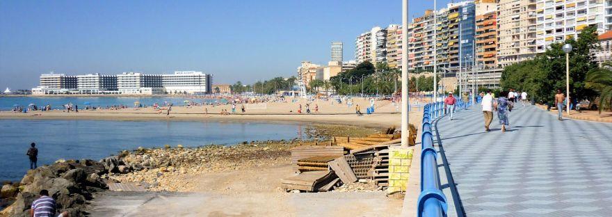 Playa del Postiguet Alicante Costa Blanca