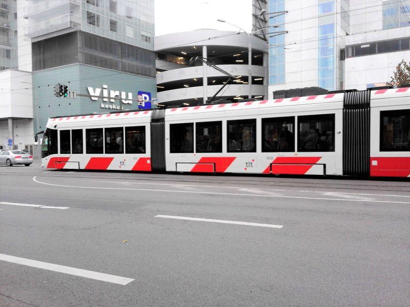 Tallinn Tram Estonia
