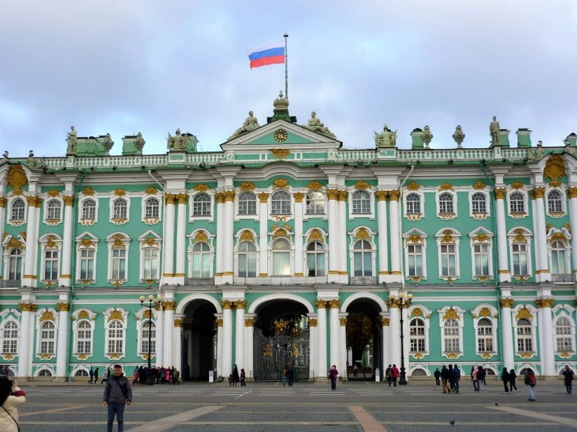 Winter Palace St. Petersburg Russia