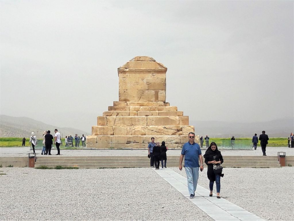 Cyrus the Great tomb Pasargadae Iran