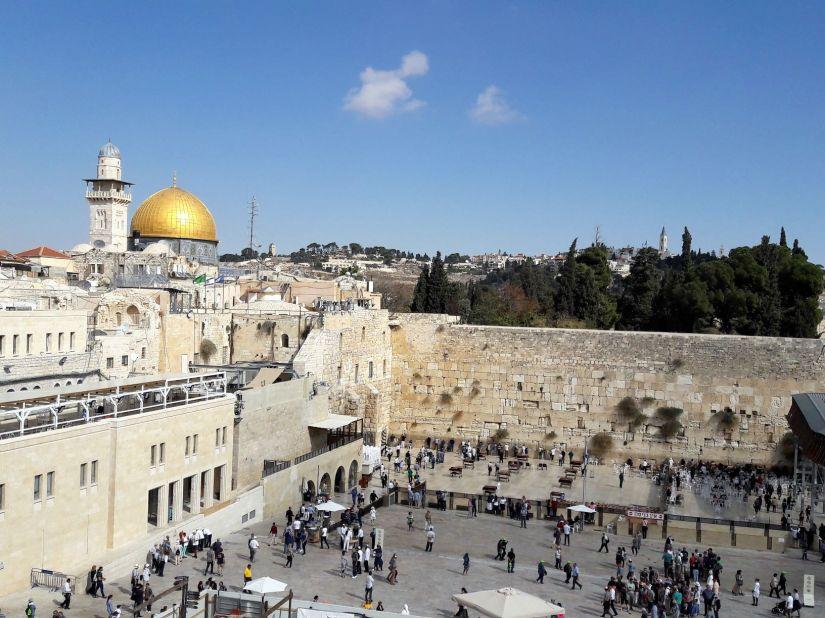 Western Wall Temple Mount Jerusalem
