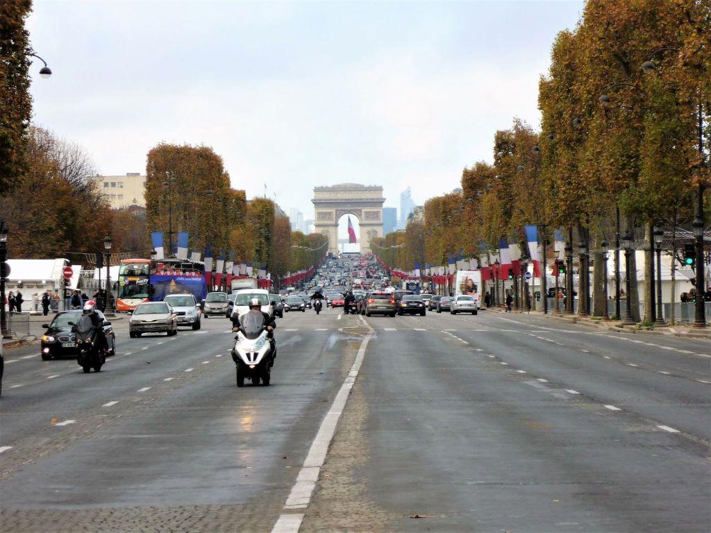 Arc de Triomphe Champs-Elysees Paris