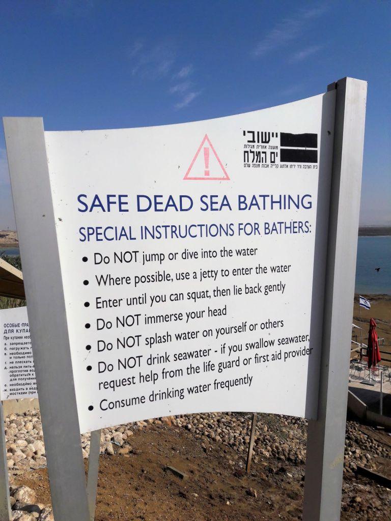 Dead Sea instructions