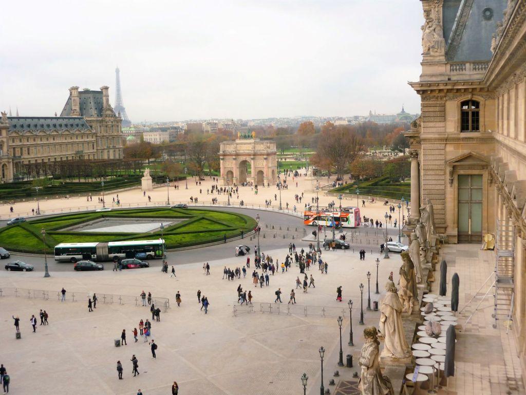 Louvre Tuileries Paris