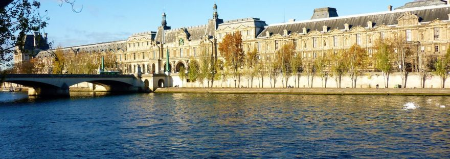 Louvre by the Seine