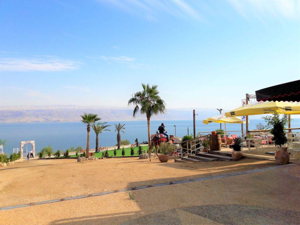 Neve Midbar terrace Dead Sea