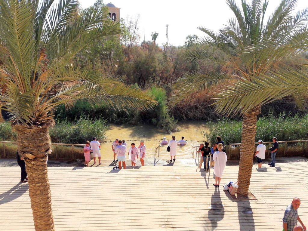 Baptism site of Jesus