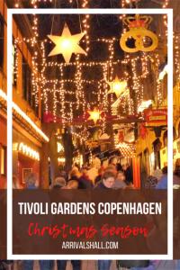 Tivoli Gardens Copenhagen Christmas season