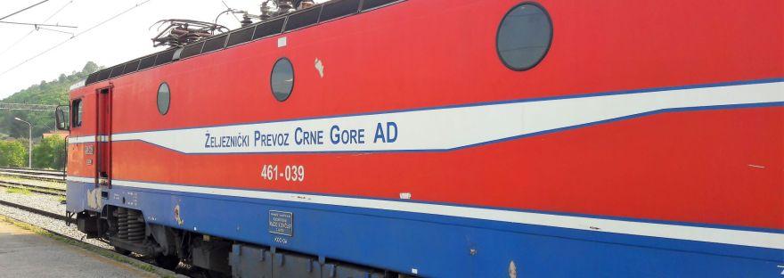 Belgrade to Bar Train Engine