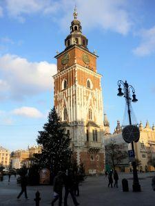Town Hall Tower Rynek Glowny Krakow